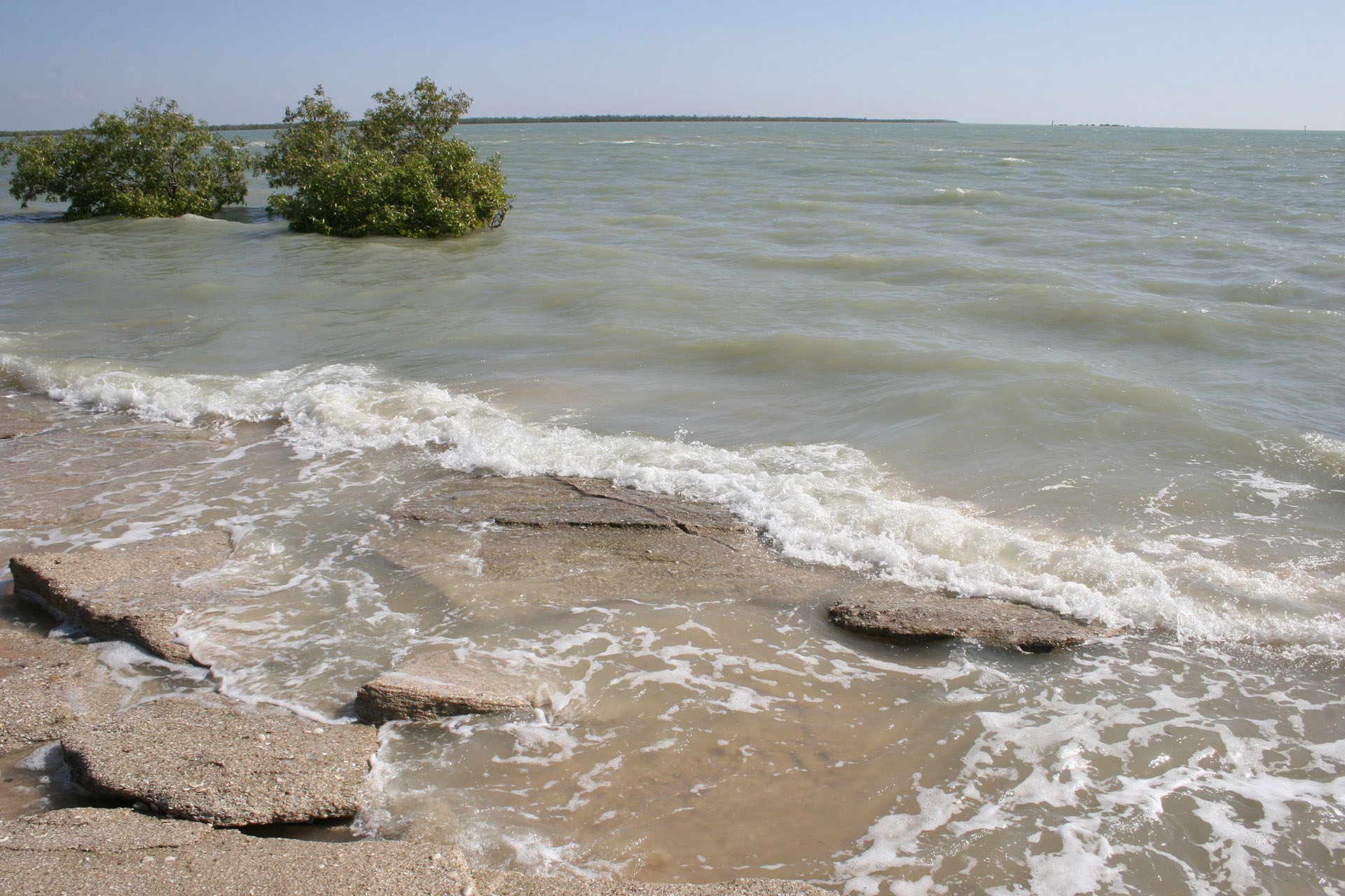 The Gulf of Carpentaria.