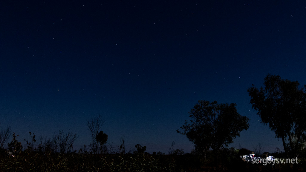 The Big Dipper: an upside-down version.