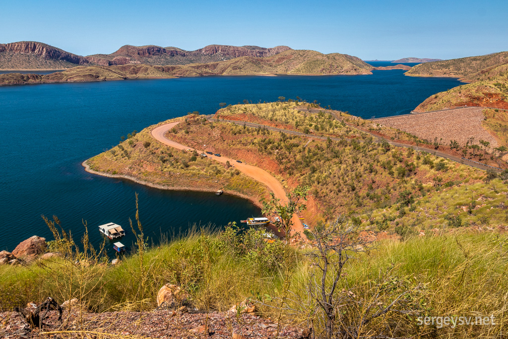 Looking over Lake Argyle.