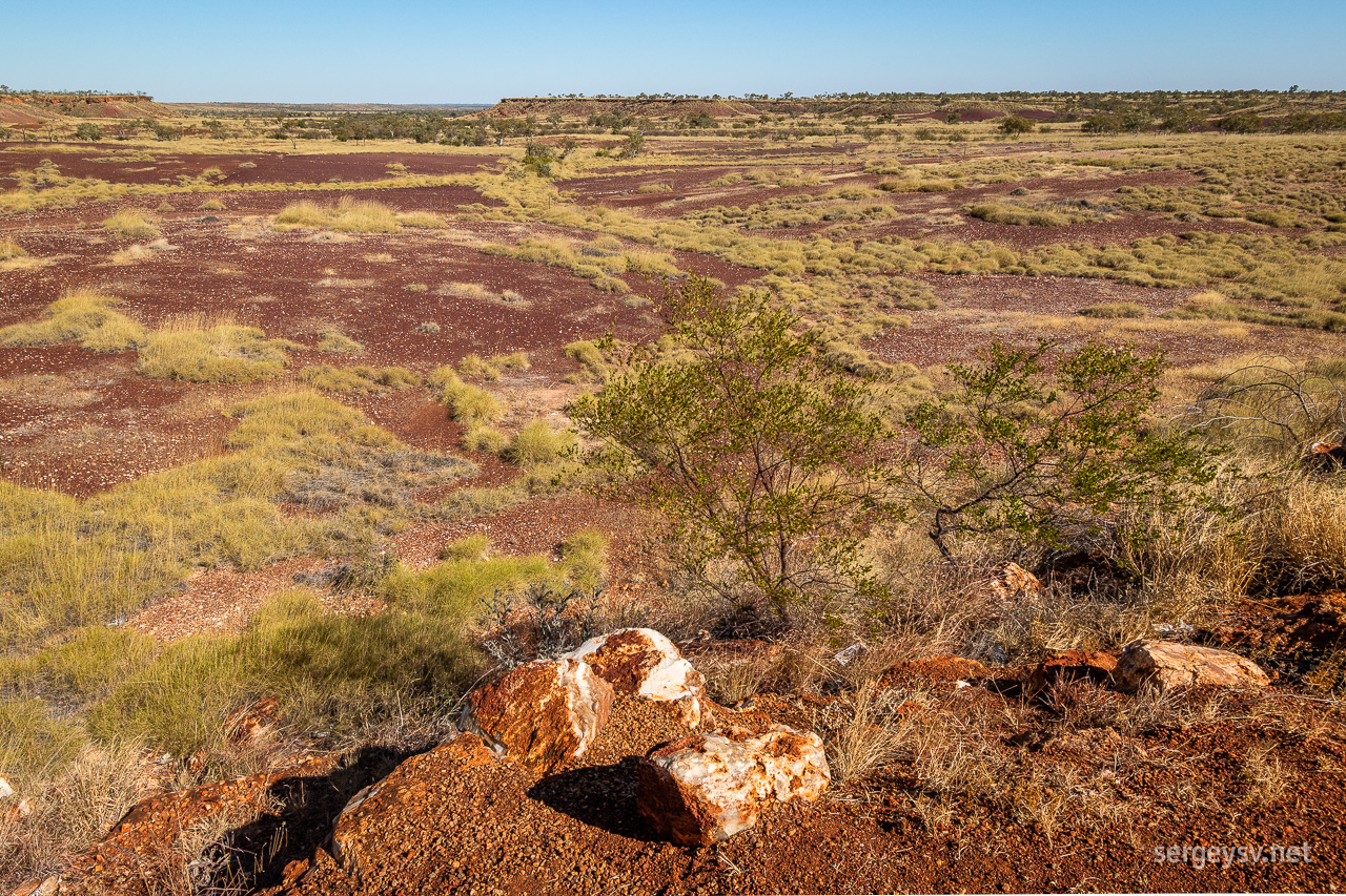 A lookout spot on my way back to Halls Creek.
