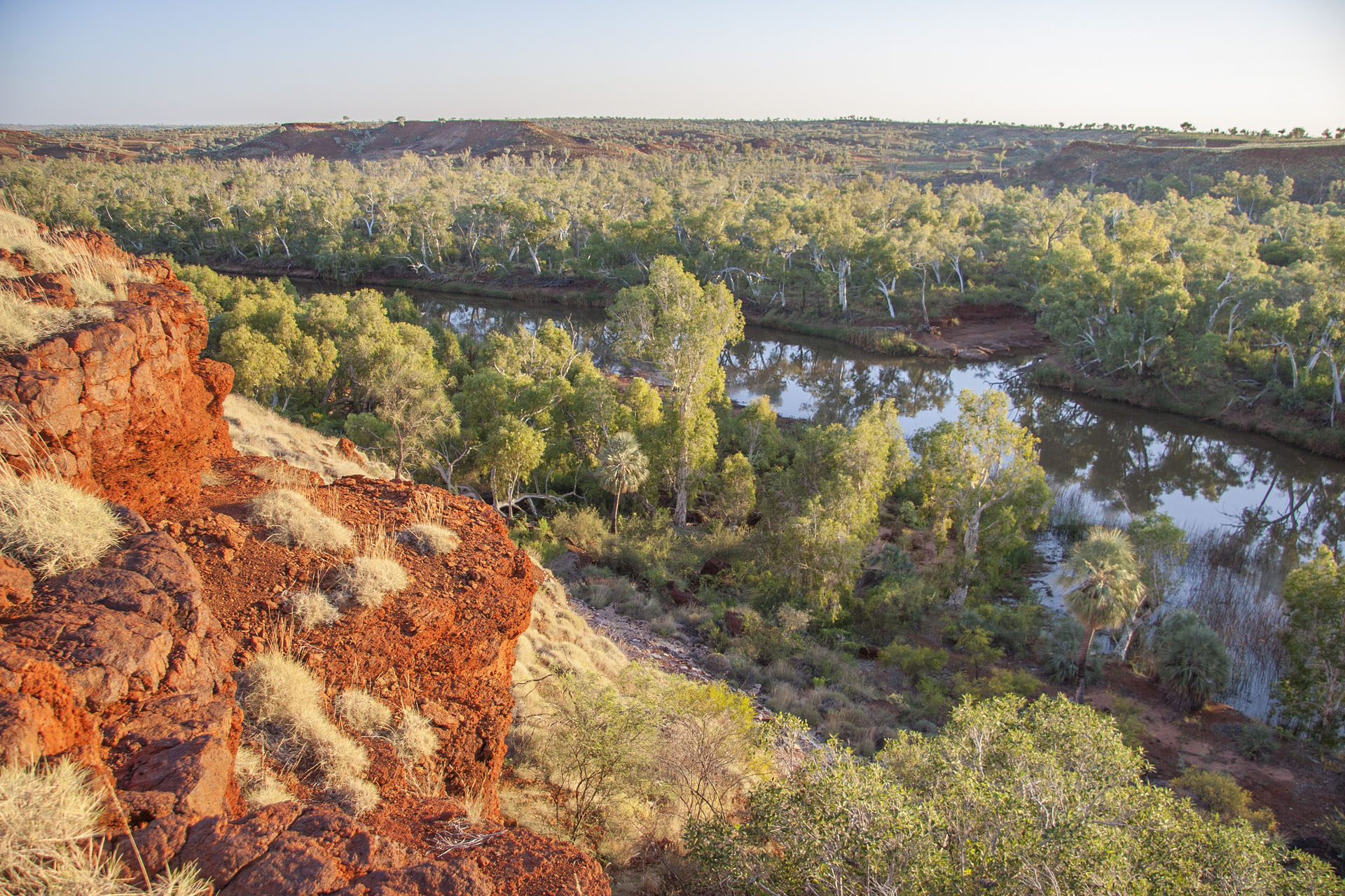 The Fortescue River.