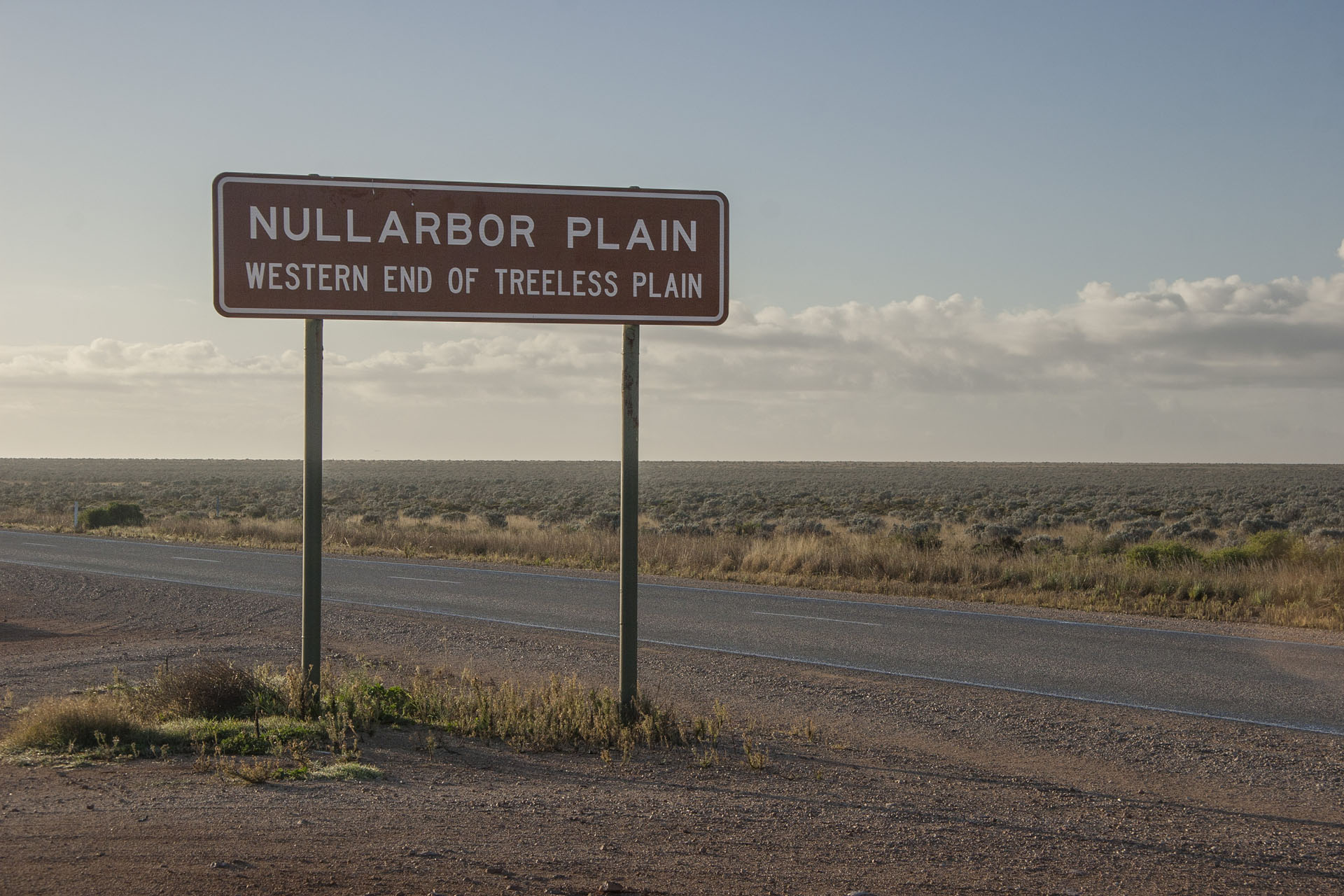 The Nullarbor is over.