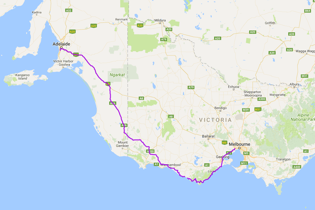 Distance covered: 961.9 km.